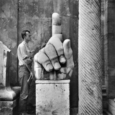 Cy + Relics, Rome, 1952