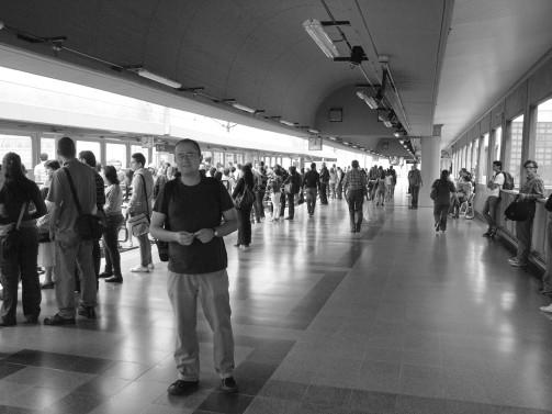 Estación San Antonio (foto tomada por Juan Ruiz)
