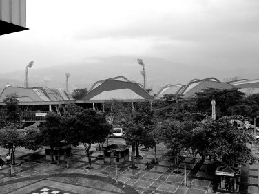 Zona deportiva - montañas de Antioquia