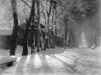 Lumière et neige