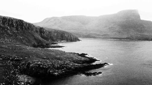 Neist Point, al oeste de la isla de Skye. Tierra de Breaking the Waves. Verano de 2013.