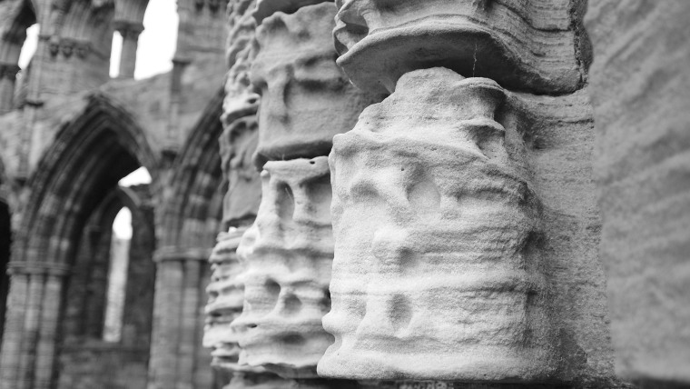 Whitby Abbey, not far from Rievaulx