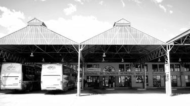 Terminal de autobuses en El Calafate