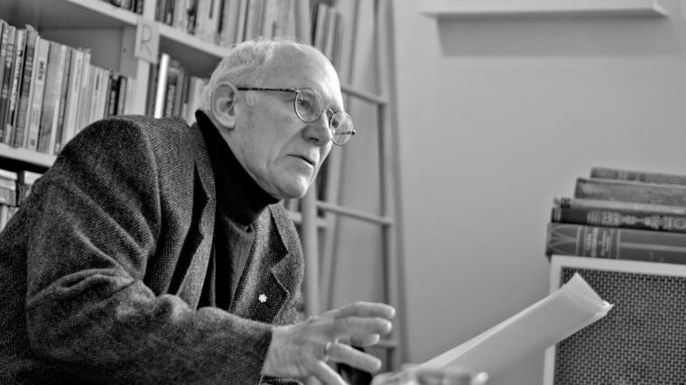 El poeta y lingüista Robert Bringhurst - foto AV - Helsinki 2015